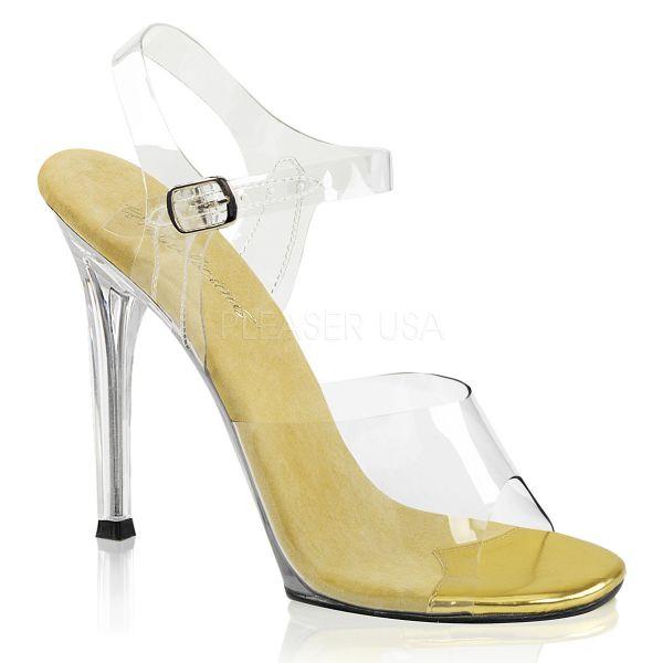 GALA-08     Durchsichtige High-Heel Sandalette